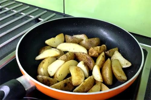 Potatis klyftor m skal KRAV