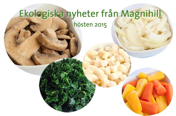 Ekologiska nyheter från Magnihill hösten 2015