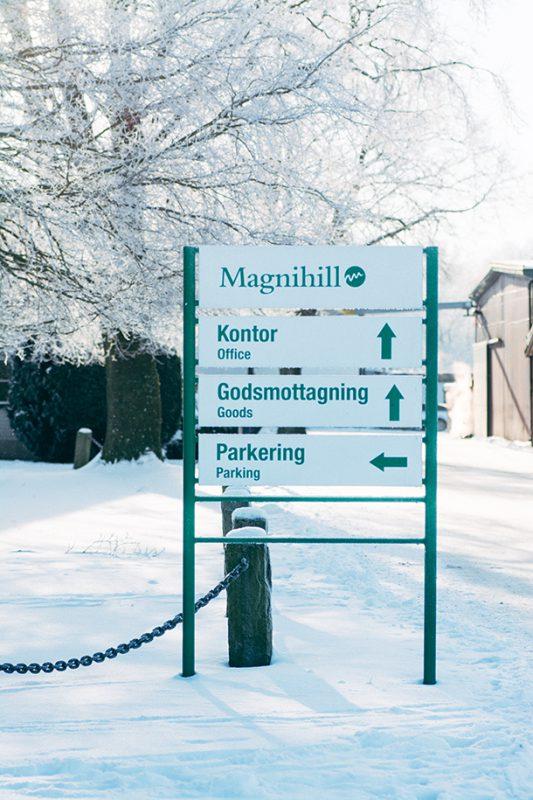 Magnihill Gård Vinter