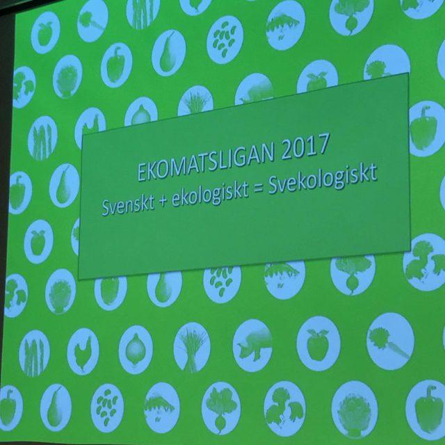 Idag r Magnihill p Ekomatsligan och debatterar om svekologiskt!! svelogiskthellip
