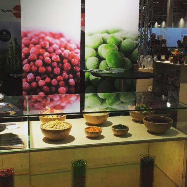 Vlkomna till monter F20 p Nordic Organic Food Fair magnihillhellip